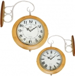 Настенные часы Двусторонние B&S YN 602W