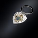 Серебряный брелок ФПС РОССИИ (серебро 925 пробы)